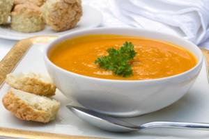 Receta Sopa de Cebolla y Zanahoria