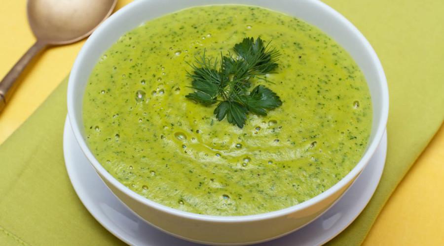 Receta Sopa de Cilantro