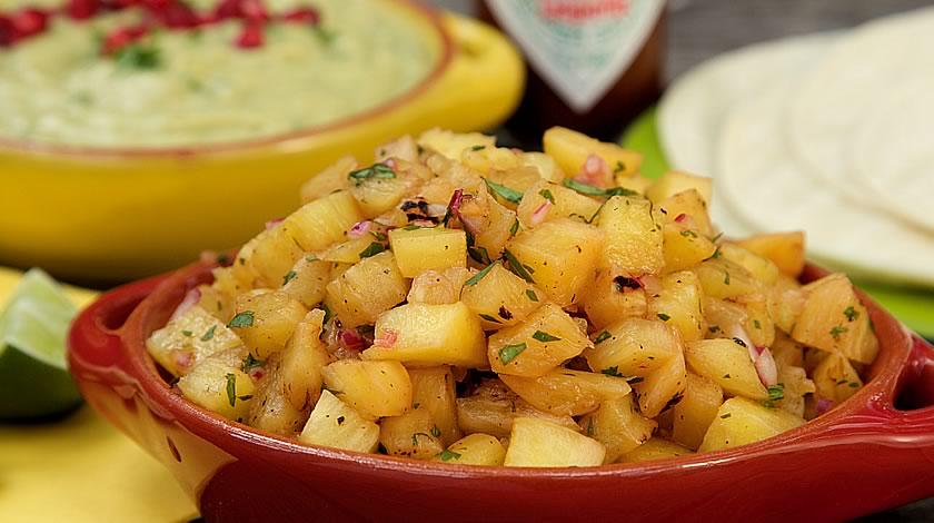 Receta Salsa Taquera de Piña y Mango