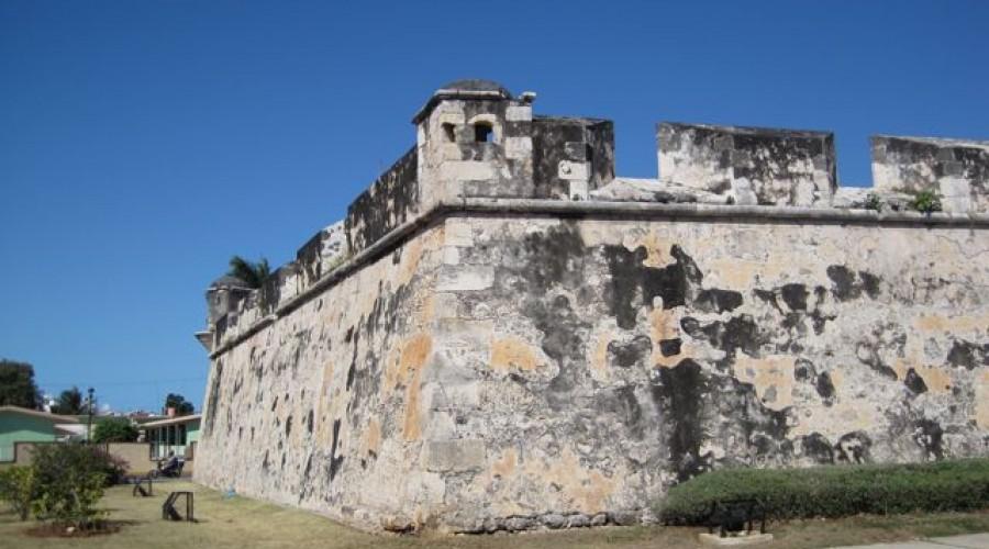Los Baluartes en la Ciudad de Campeche