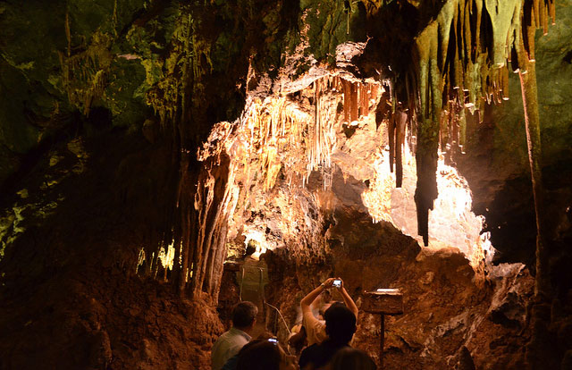 Grutas Nombre de Dios, al interior del Cerro del Caballo.