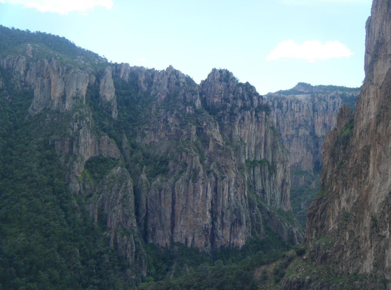 Peña del Gigante, Chihuahua