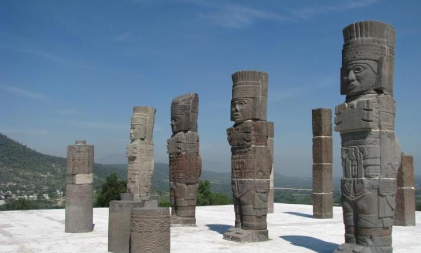 Zona Arqueológica de Tula en Hidalgo