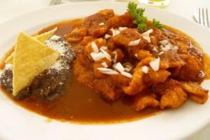 Receta Chicharrón en Salsa Roja