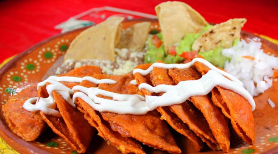 Receta Enchiladas Potosinas