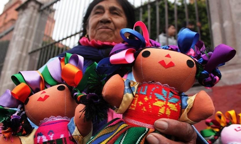 Las Marías, una muñeca muy Mexicana