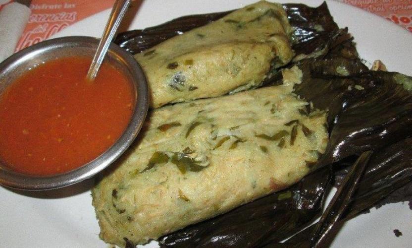 Receta Tamales de Chepil