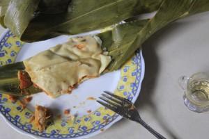 Receta Tamales de Hoja de Milpa