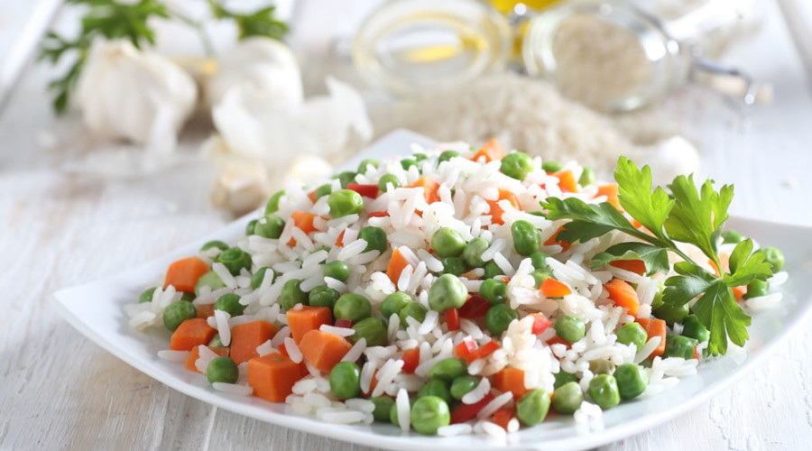 arroz a la jardinera