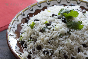 arroz enfrijolado