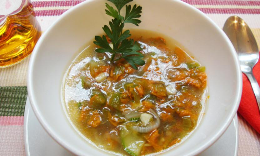 Receta Sopa de Flor de Calabaza