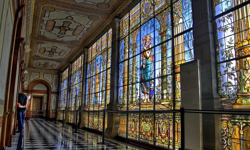 Los Vitrales del Castillo de Chapultepec