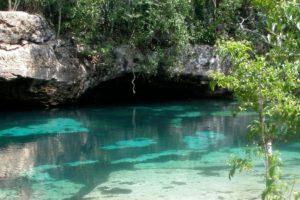 Cenote Azul en Quintana Roo