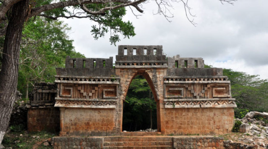 Zona Arqueológica de Labná, Yucatán
