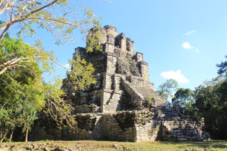 Muyil, una de las zonas arqueologicas de Quintana Roo