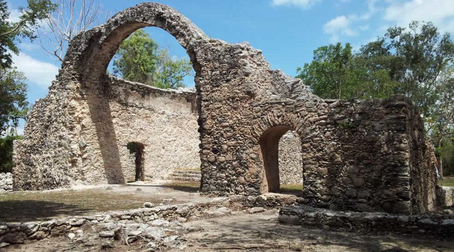Zona Arqueológica de Oxtankah, Quintana Roo