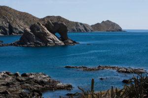 Bahía de Loreto en Baja California Sur