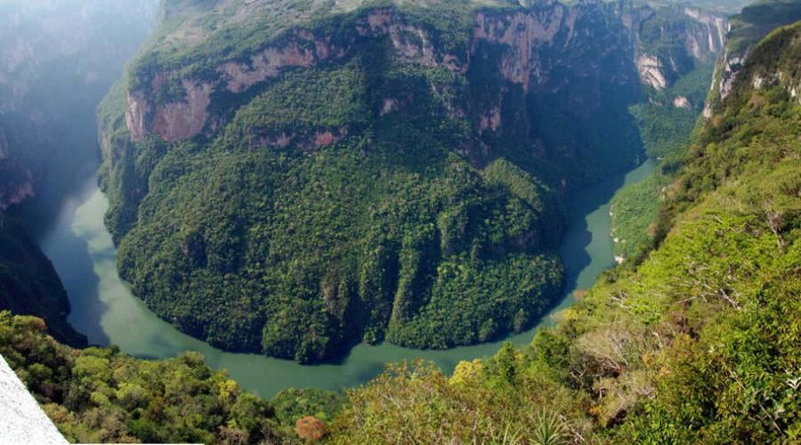 Cañón del Sumidero en Chiapas