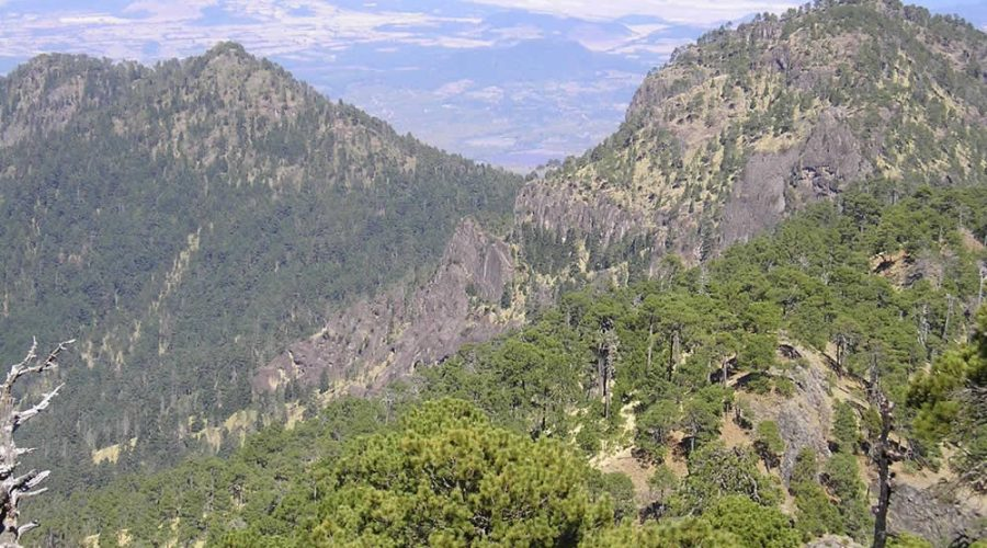 Pico de Tancítaro en Michoacán