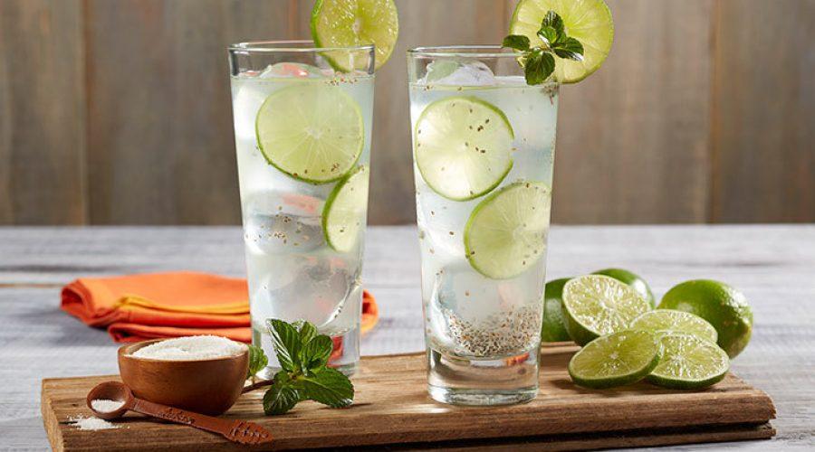 Receta Agua de Limón con Chia