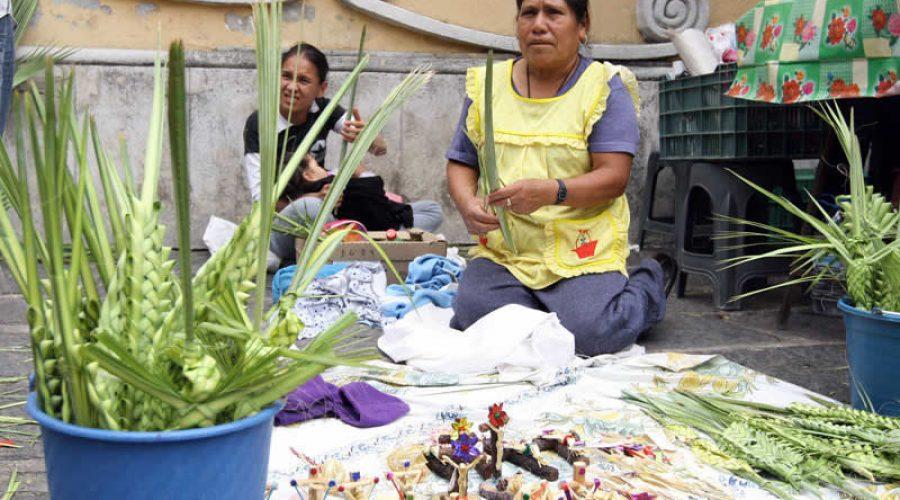 El Domingo de Ramos en Uruapan, Michoacán