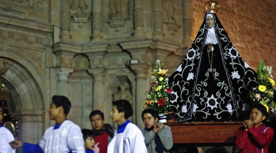 Festividad de la Virgen de la Soledad en Oaxaca