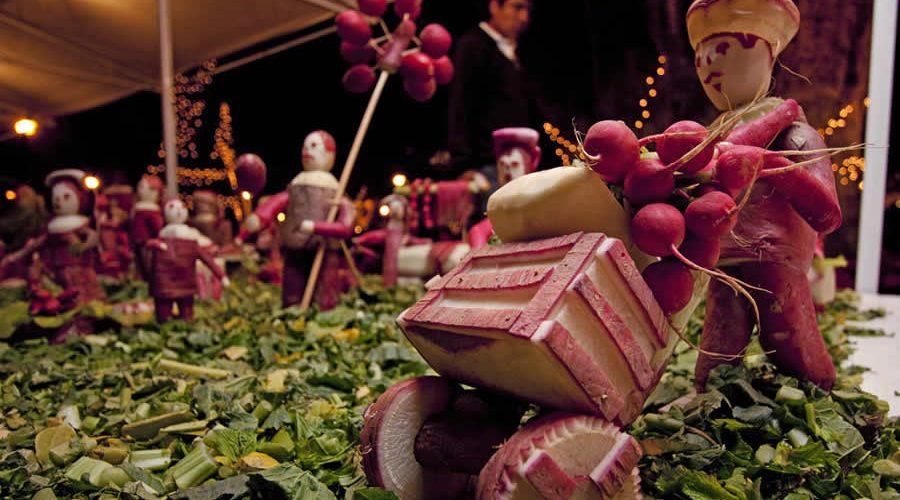 Fiesta de los Rábanos en Oaxaca