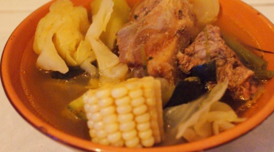 Receta Cocido estilo San Cristóbal