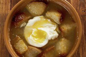 Receta Sopa de Pan