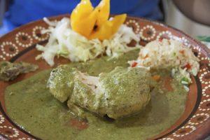 Receta Verde Oaxaqueño con Pierna de Cerdo