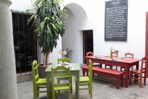 Restaurante El Origen en Oaxaca