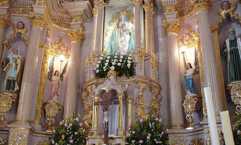 La Ciudad de Zacatecas bajo el manto de la Virgen del Patrocinio