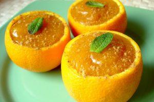 Receta Dulce de Camote y Naranja