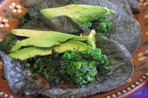 Receta Tacos de Chorizo Verde