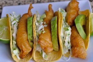 Receta Tacos de Pescado Rebosado
