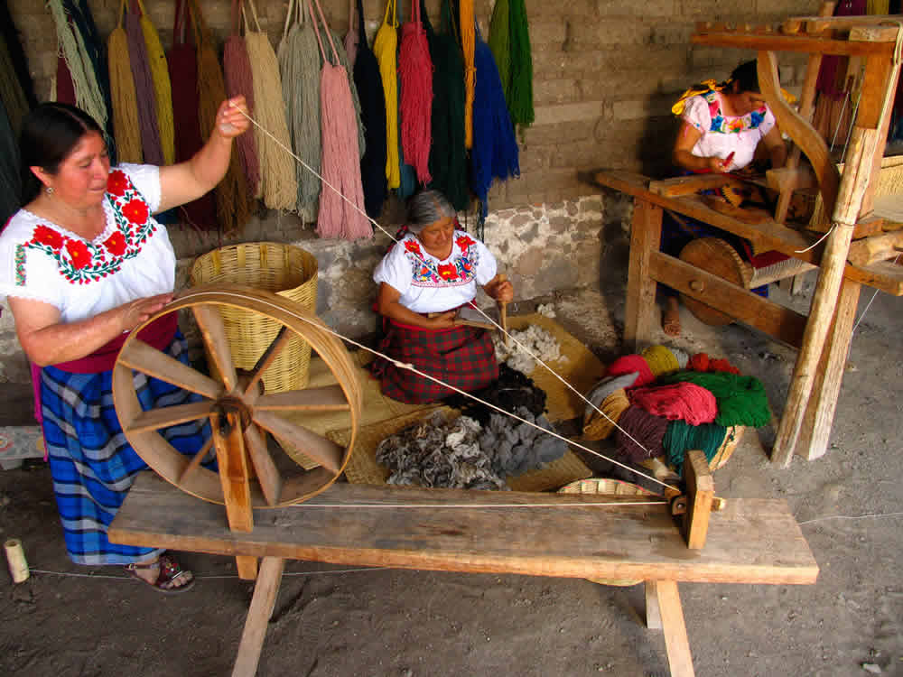 Teotitlán del Valle en Oaxaca
