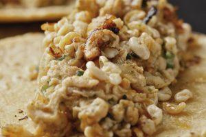 Receta Tacos de Escamoles