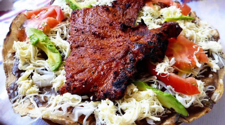 Comiendo en Tlacolula, Oaxaca