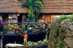 Pueblo Maya en Xcaret