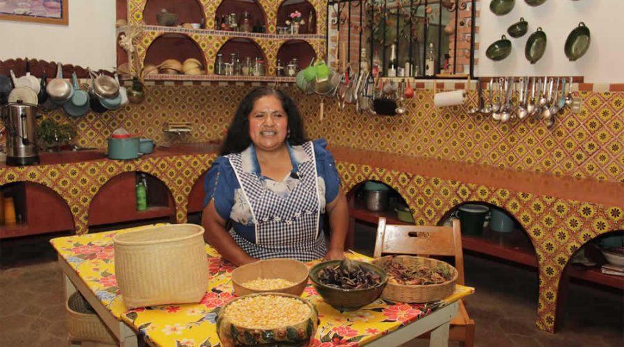 Restaurante Tlamanalli en Teotitlán del Valle, Oaxaca