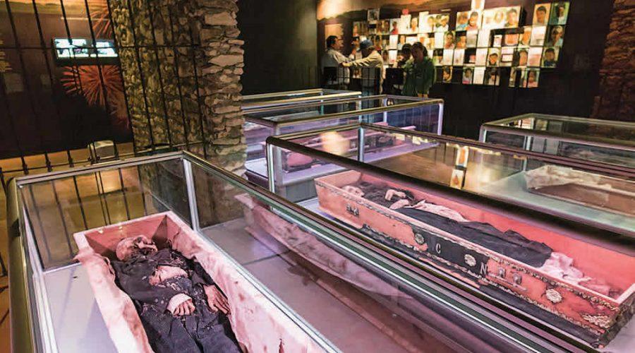 Museo de las Momias en Arteaga, Coahuila