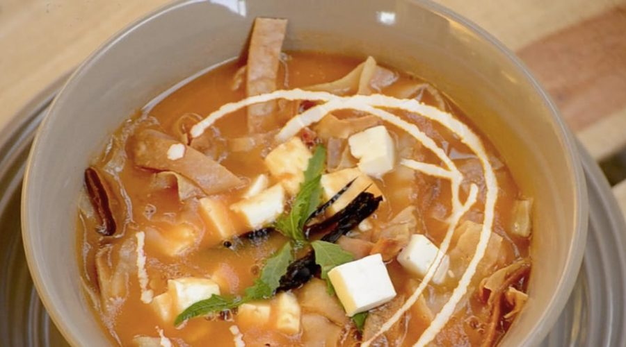 Receta Sopa Tarasca