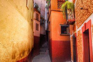 El Callejón del Beso en Guanajuato