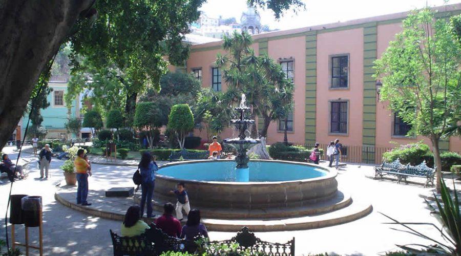 Jardín Reforma en Guanajuato
