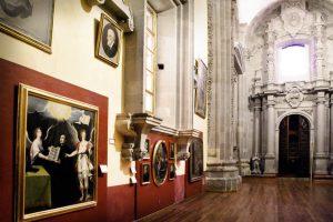 Pinacoteca del Templo de la Compañía en Guanajuato