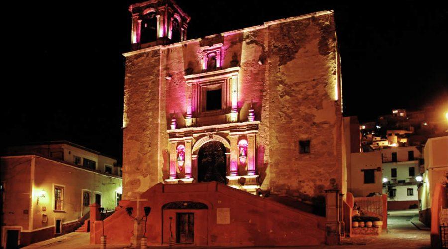 Plaza de San Roque en Guanajuato