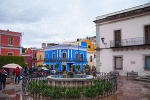 Plaza de los Ángeles en Guanajuato