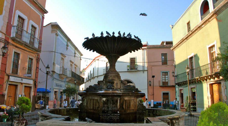 Plaza del Baratillo en Guanajuato