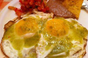 Receta Huevos Rancheros