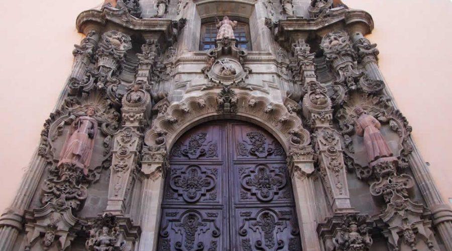 Templo de San Diego de Alcántara en Guanajuato